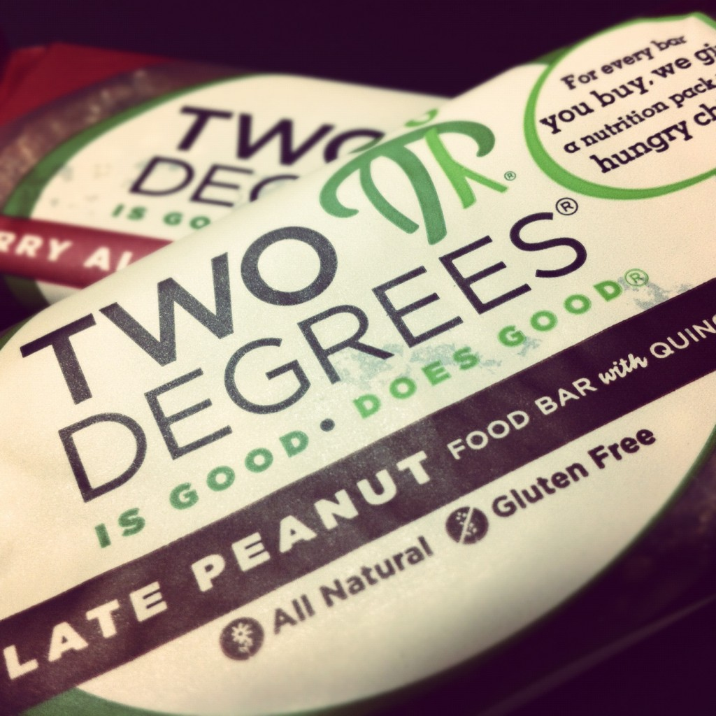 Two Degrees Food Bars - Packaging